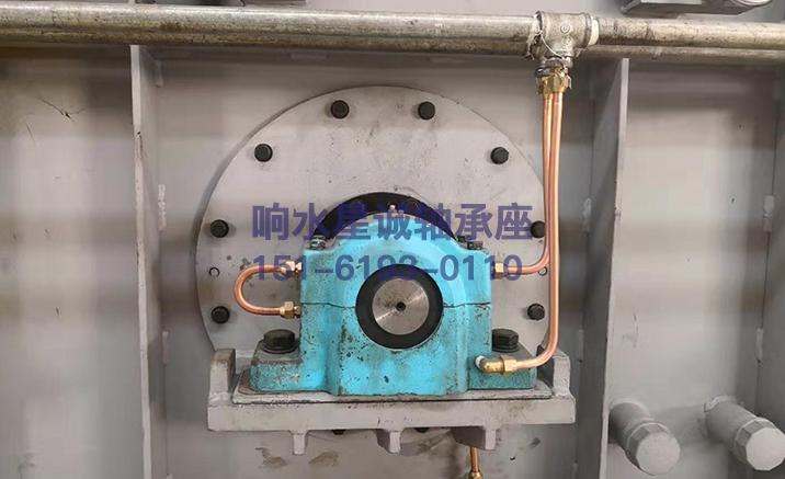 水冷轴承座案例